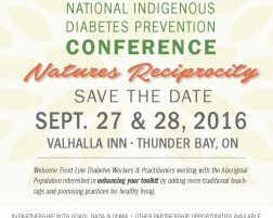 2016 National Indigenous Diabetes Prevention Conference
