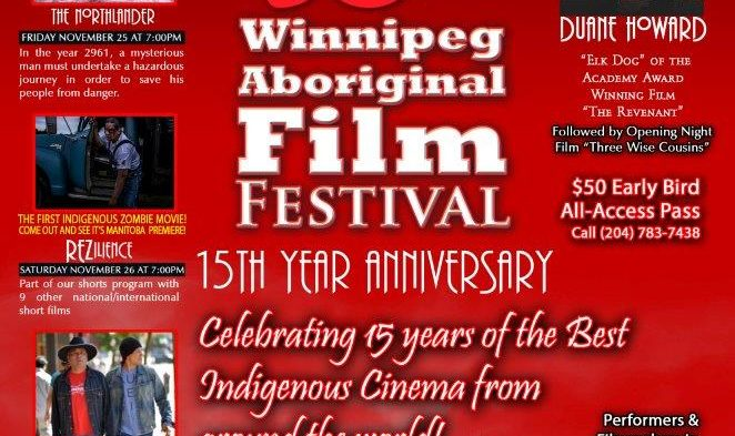 Winnipeg Aboriginal Film Festival starts this week!