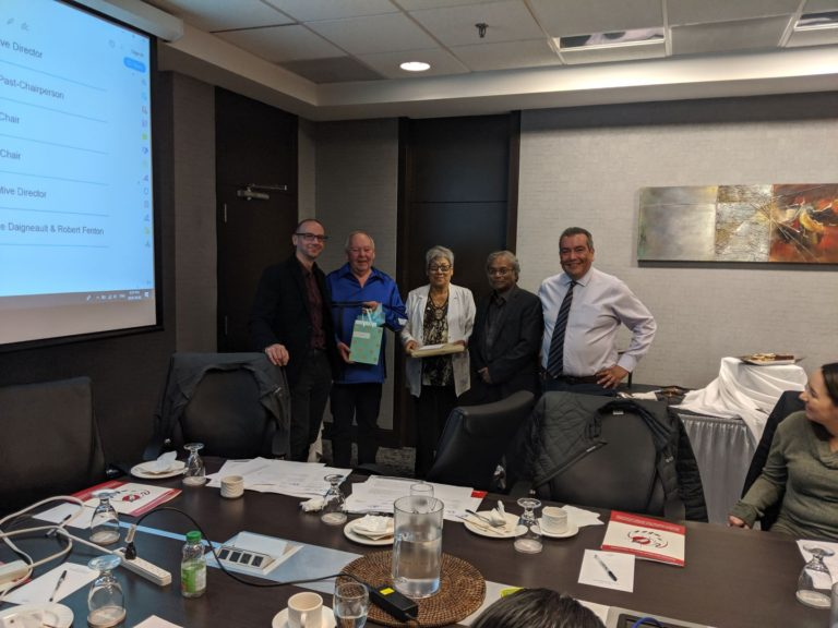 2019 NIDA Board End of Term Recognition