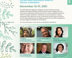 2021 National Indigenous Diabetes Virtual Conference Our Ways – Healing Through Traditional Health and Wellness