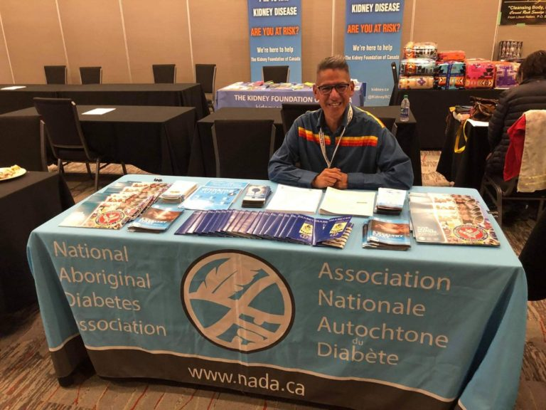 BC Aboriginal Diabetes Conference NIDA Booth 2019