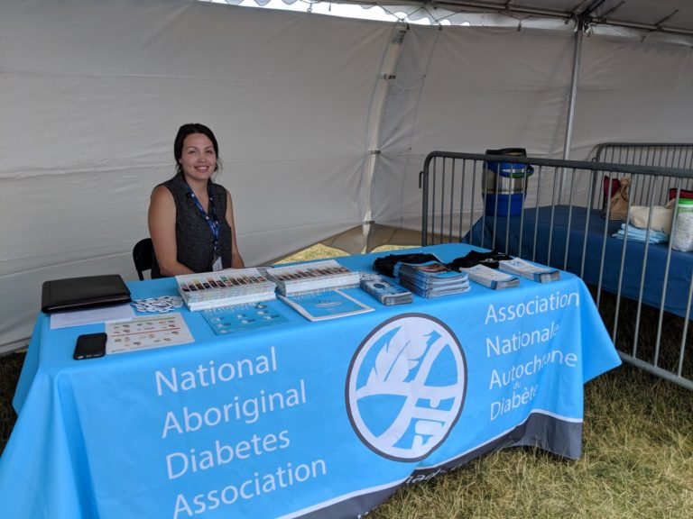 Masters Indigenous Games 2018 NIDA Booth